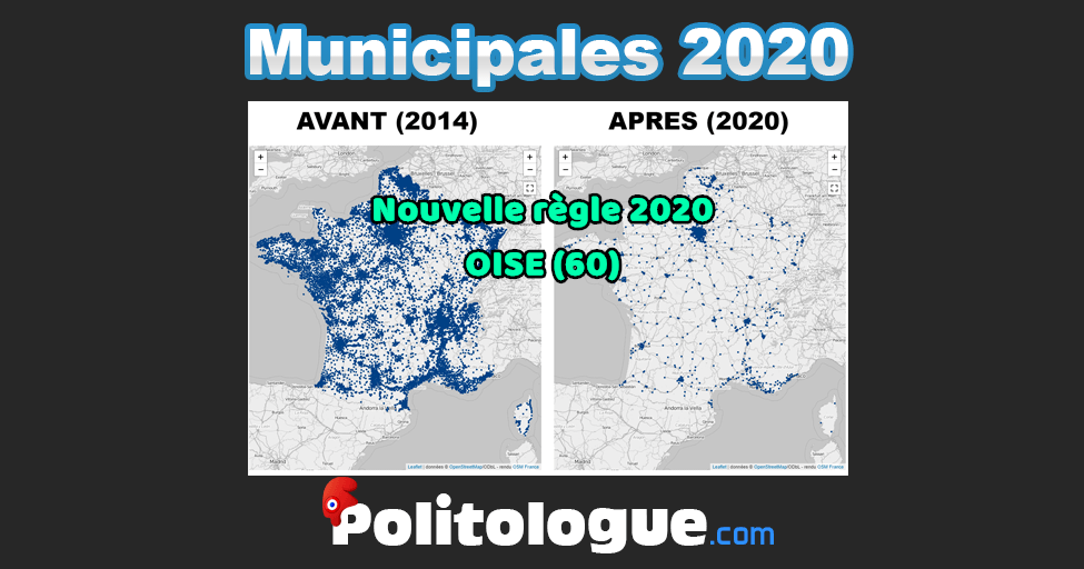 Elections Municipales 2020, OISE (60)